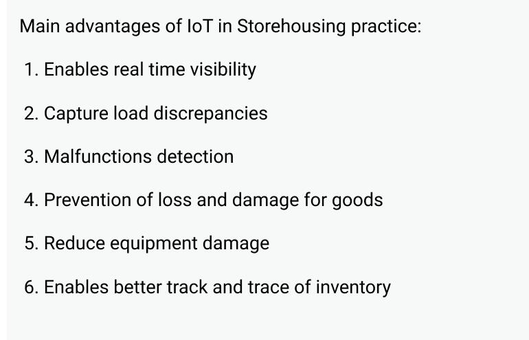 Smart warehouse-advantages