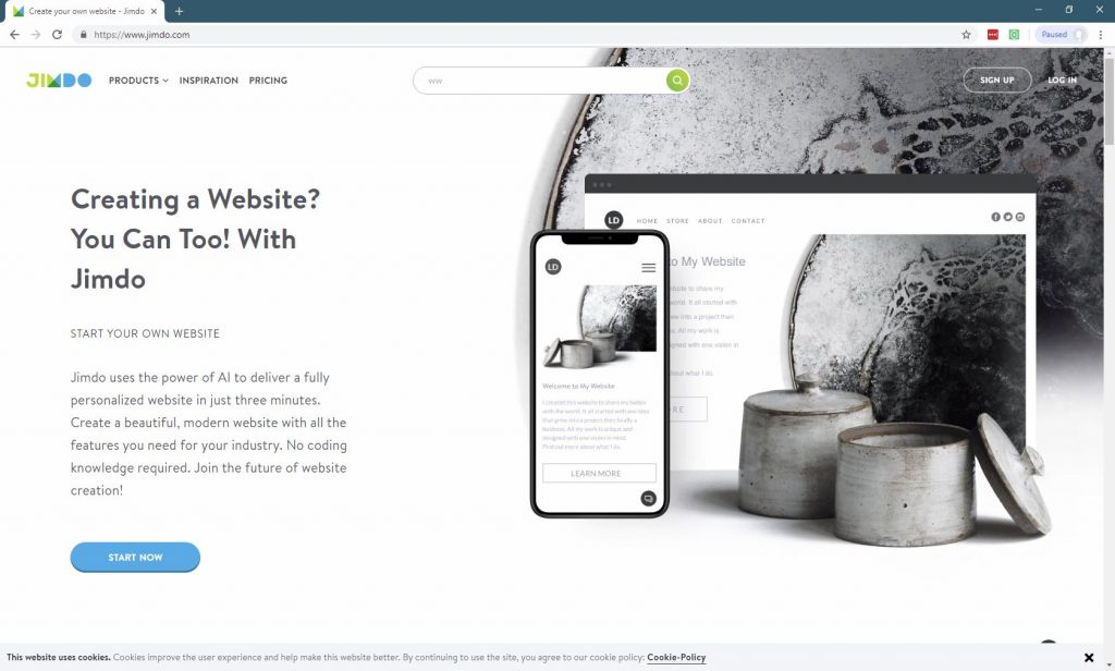 11 Best Website Builders For Small Businesses-Jimdo