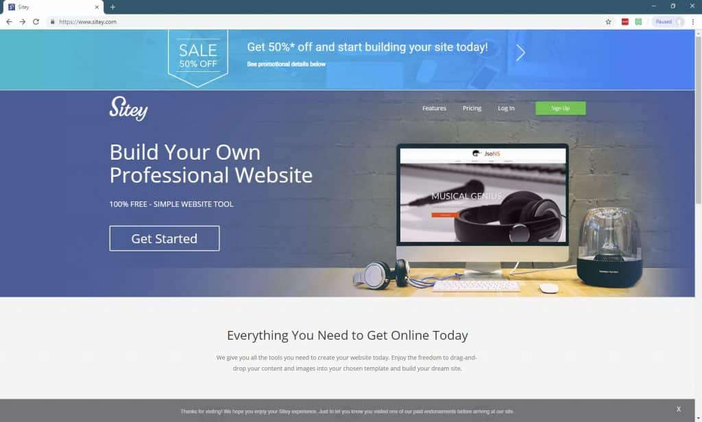11 Best Website Builders For Small Businesses-Sitey
