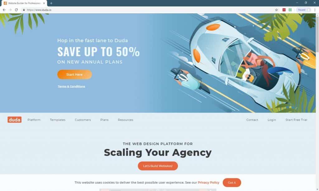 11 Best Website Builders For Small Businesses-duda