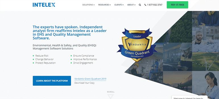Intelex Technologies-Full Site 1