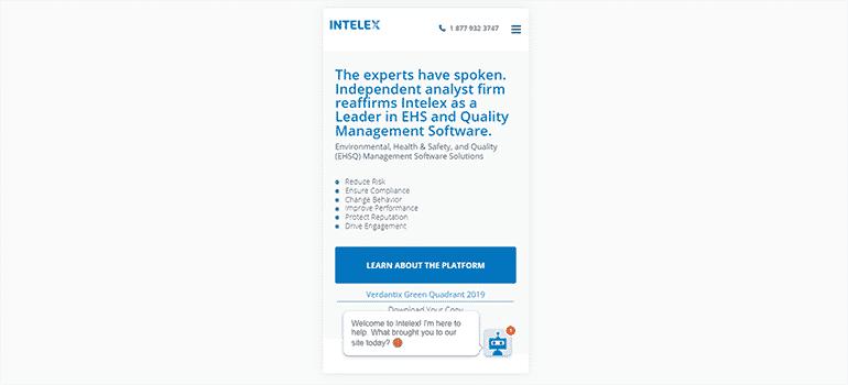 Intelex Technologies-Mobile 1