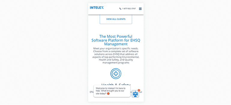Intelex Technologies-Mobile 3