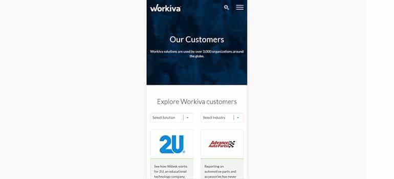 Workiva - Mobile 3