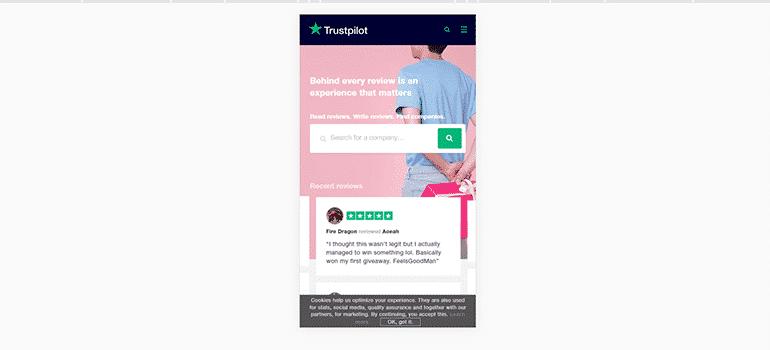 Trustpilot-Mobile 1