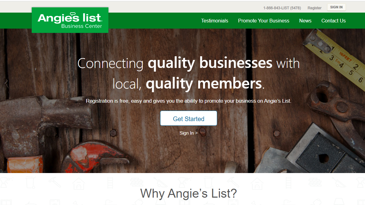 Essential Platforms For Commercial Contractors To Find Clients-Angie List