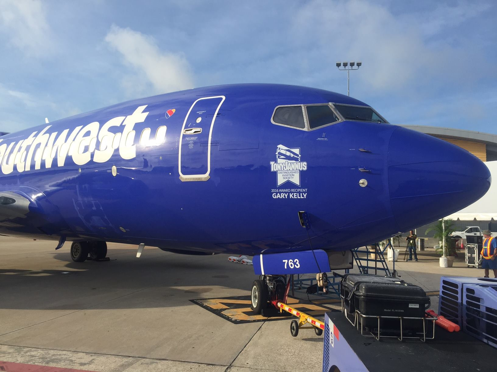 Southwest airline aircraft
