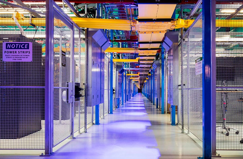 inside a Datacenter with guidebridge