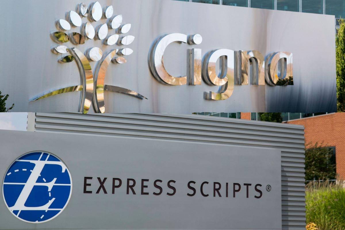 Cigna headquarters and Express scripts