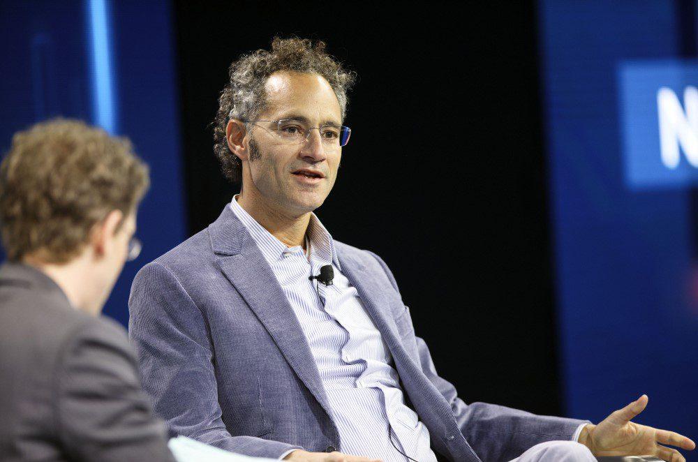 Palantir CEO Alex Karp in an interview