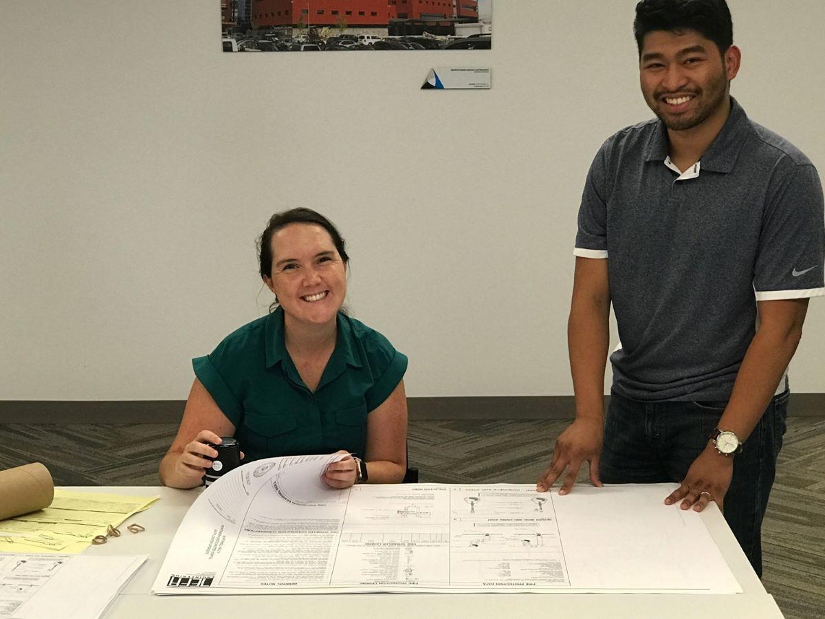 TLC Engineering collaborate on blueprint