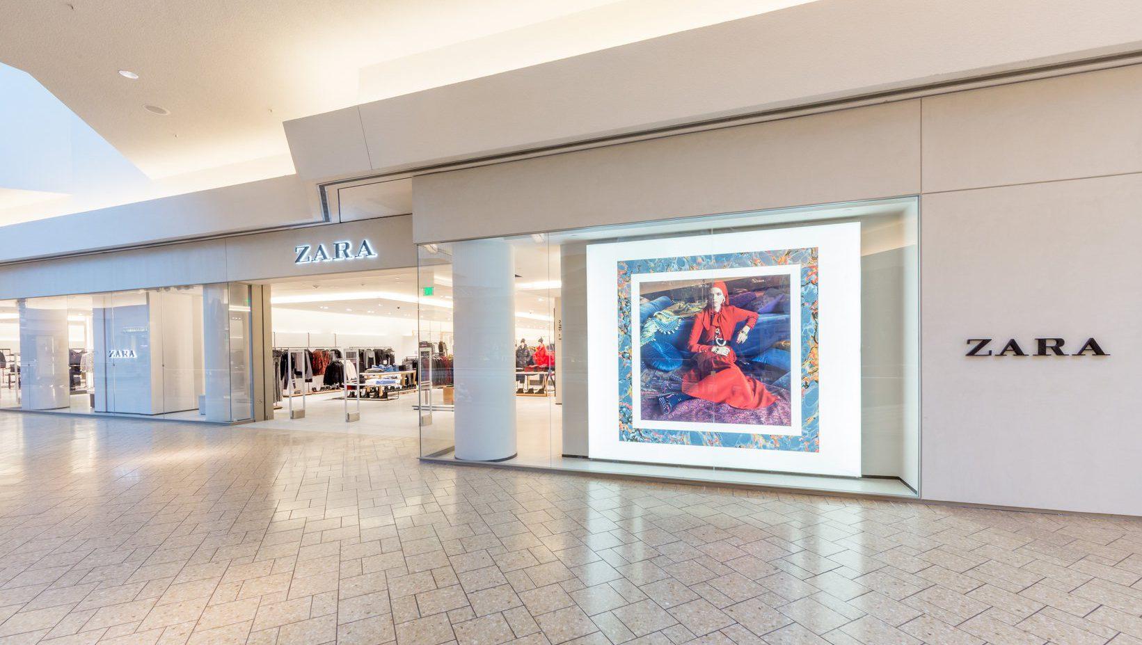 Zara store in Colorado