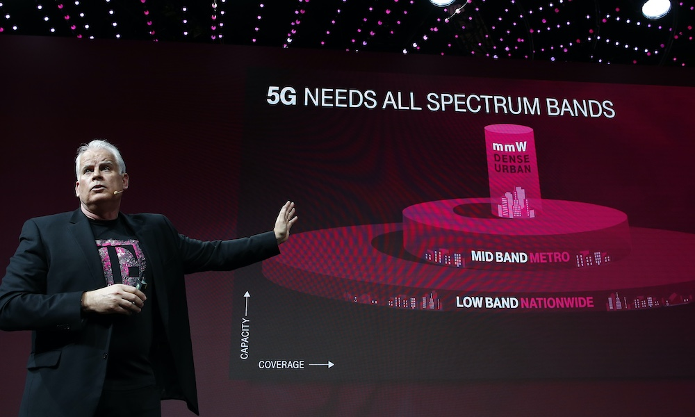 T-Mobile leadership team present 5G network