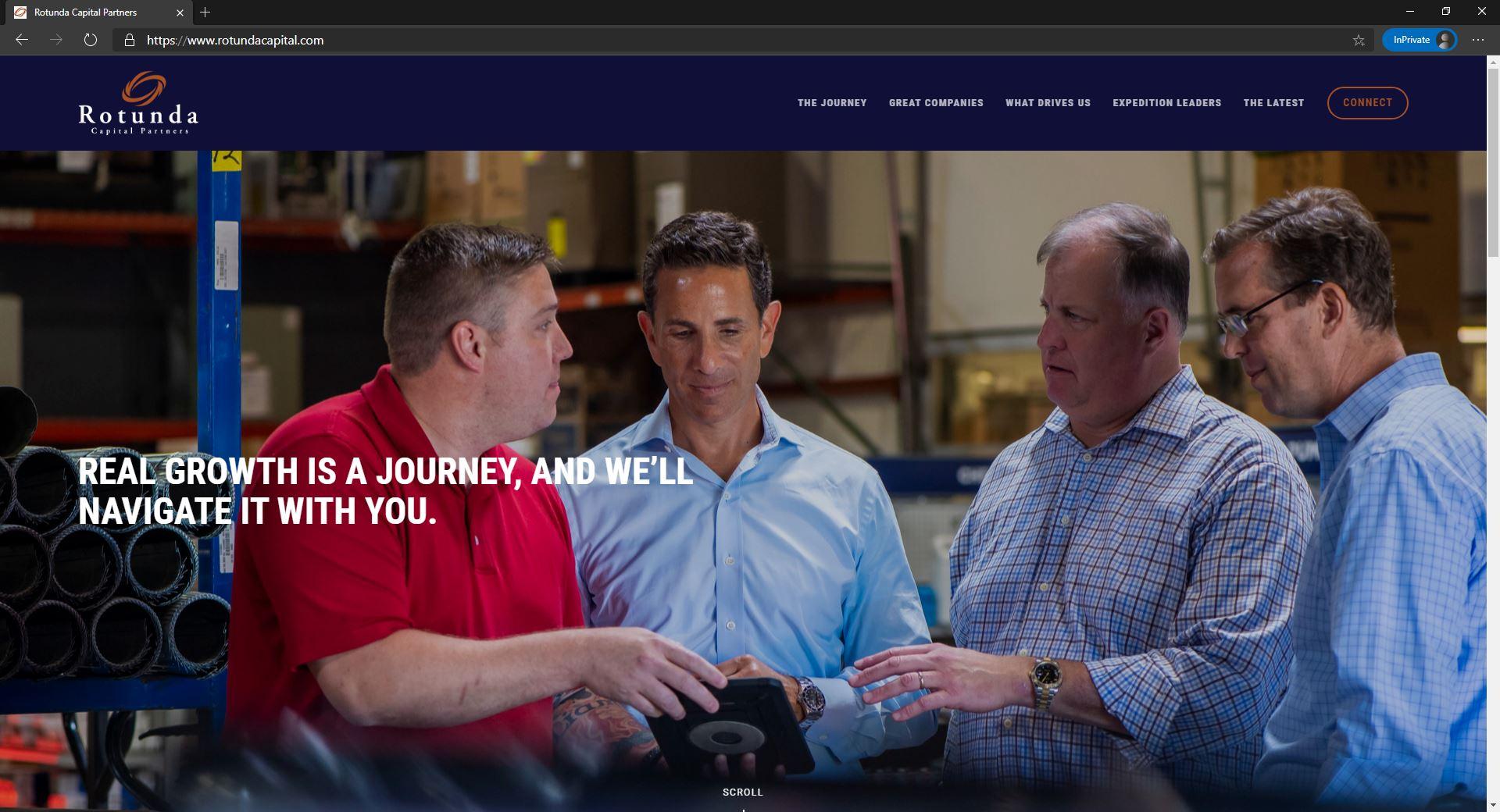 Rotunda Capital Partners website