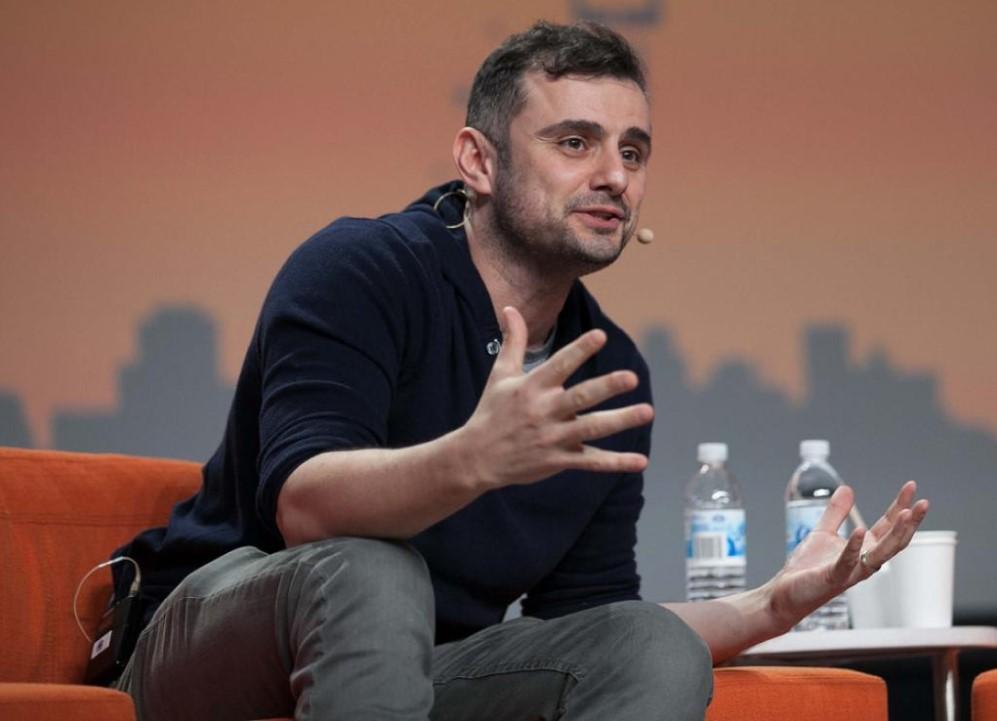 Gary Vaynerchuk in an interview at tech event