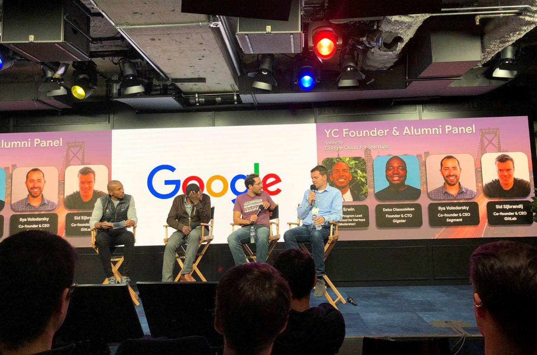 YC founders Gitlab CEO in a talk