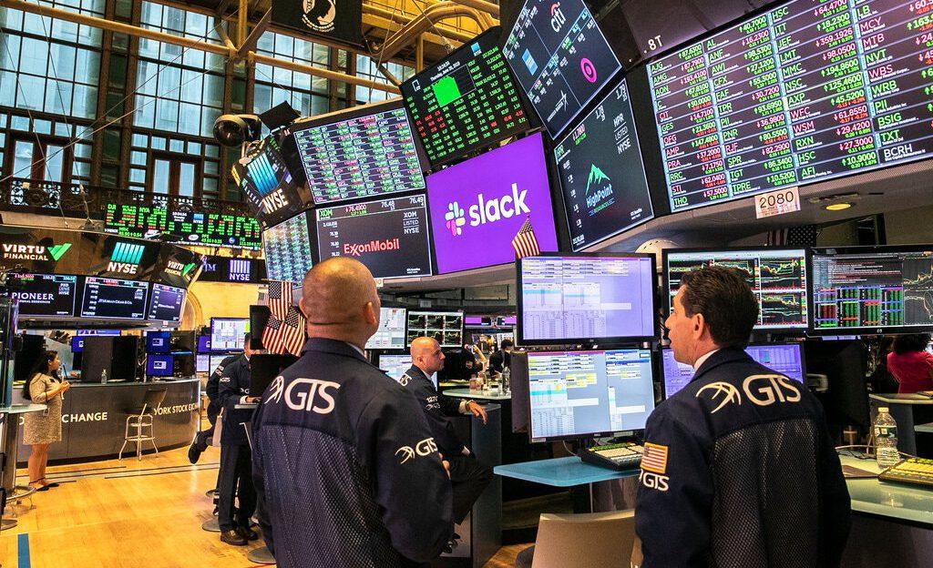 Slack on NYSE