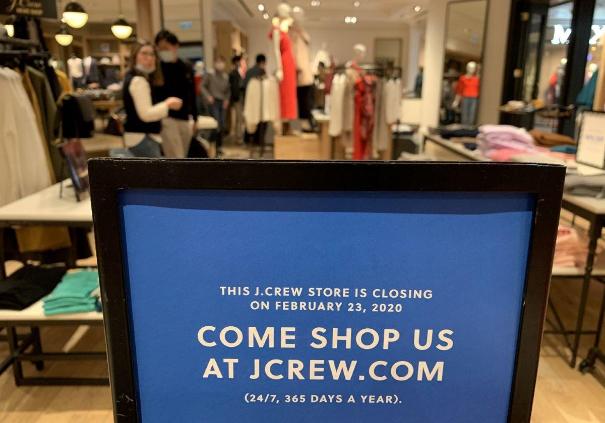 JCrew announce closure during COVID
