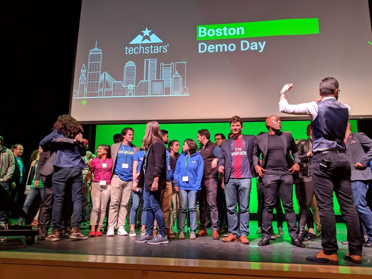 Techstars demo day in Boston