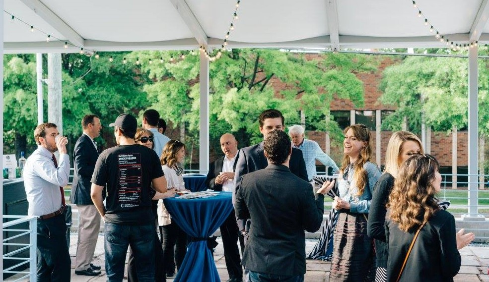 People in a networking event at Nashville