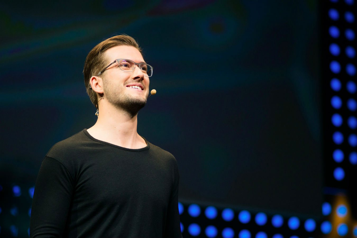 SoundCloud CEO answer the audience's question at tech conference