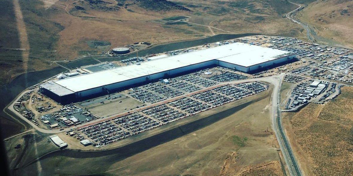 Tesla factory in Nevada