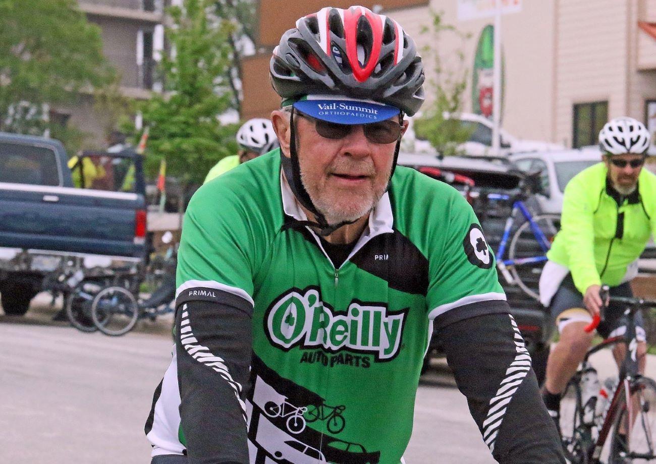O'Reilly former CEO in marathon