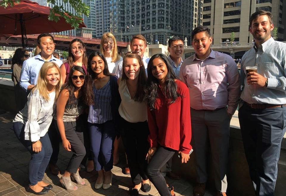 VillageMD staff in Chicago head office