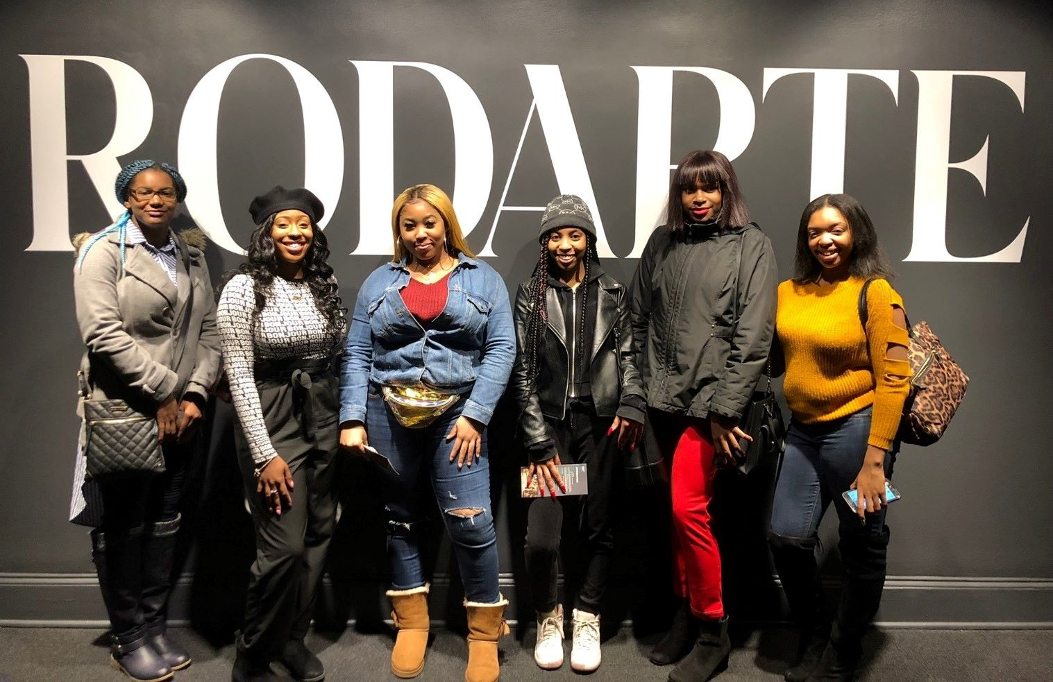 Customers from Fashion Nova store