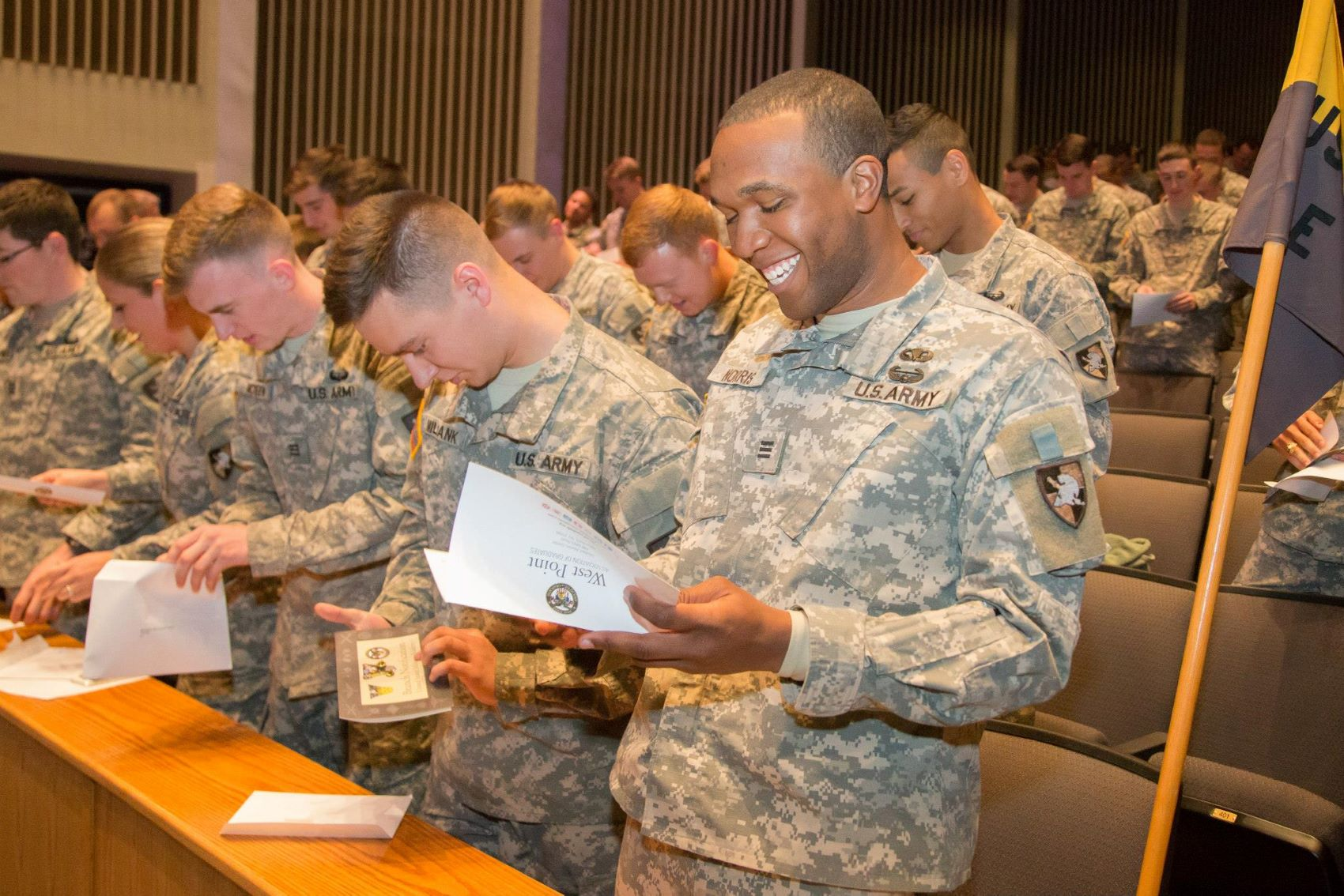 WestPoint students receive award and certificate
