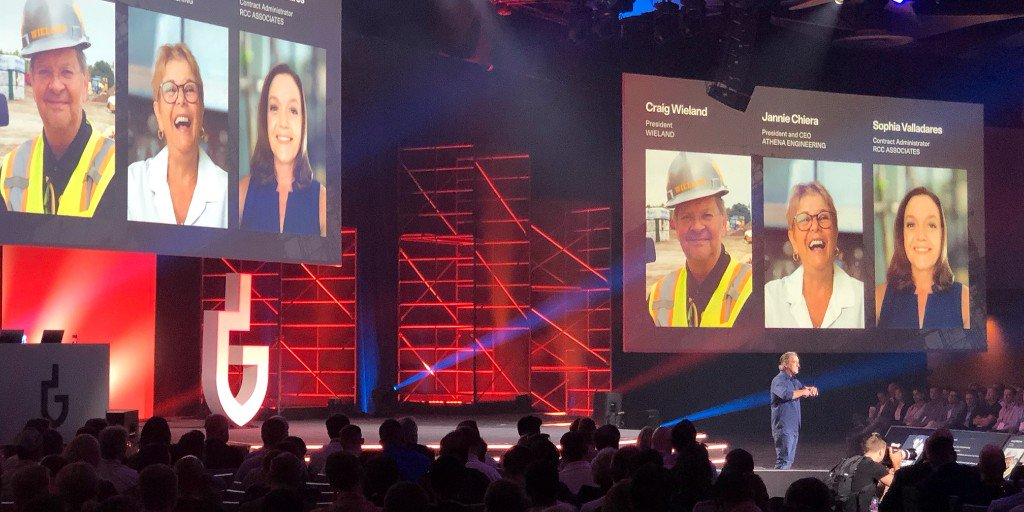 Procore CEO present project management talk at construction conference