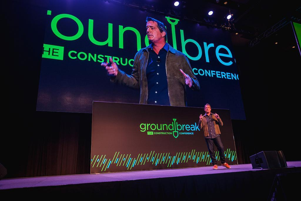 Procore CEO gave talk at Construction conference